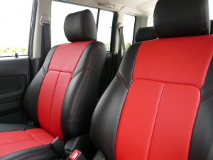Custom Red leather scion xb install