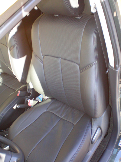 scion xb install clazzio leather seat covers. Black Bedroom Furniture Sets. Home Design Ideas