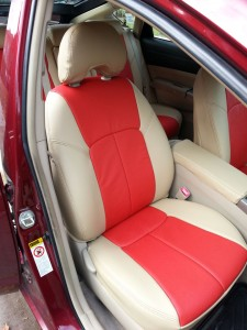 Toyota Prius Clazzio leather seat covers