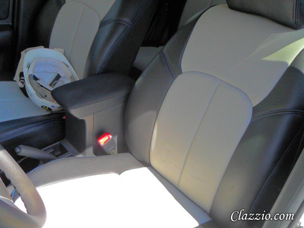 custom leather seats for 2013 scion xb autos weblog. Black Bedroom Furniture Sets. Home Design Ideas