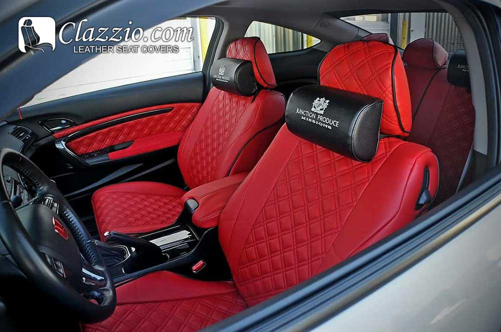 Quilted Diamond Stitch PVC Our Seat Covers