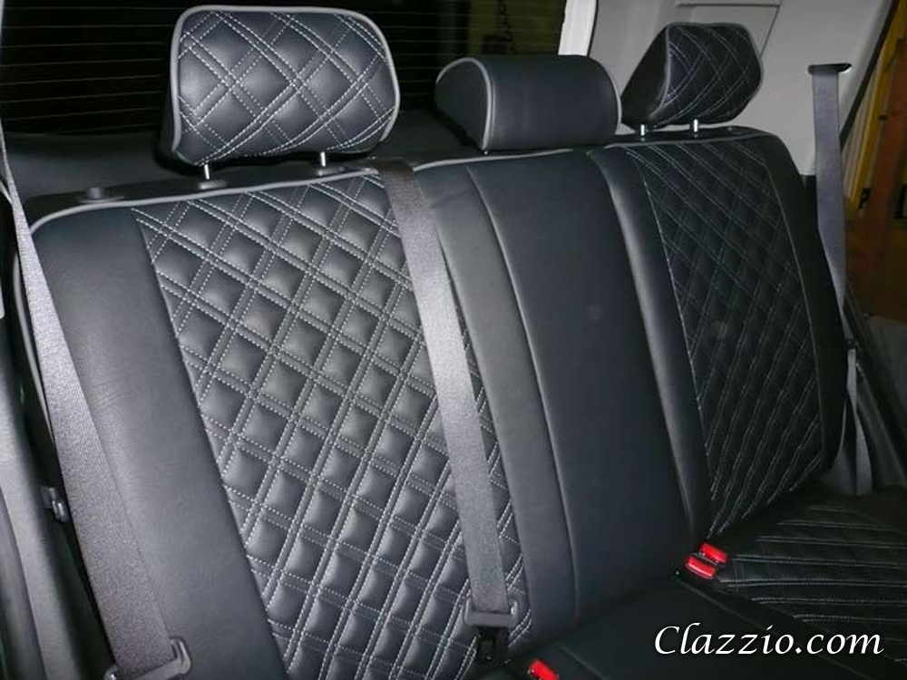 Quilted Type Clazzio Leather Seat Covers