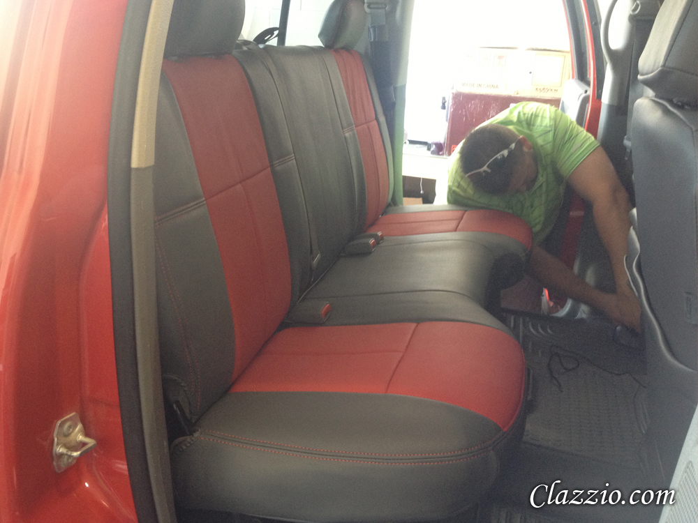 Surprising Dodge Ram Seat Covers Clazzio Seat Covers Inzonedesignstudio Interior Chair Design Inzonedesignstudiocom